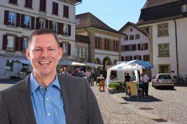 Der Wochenmarkt bereichert die Altstadt