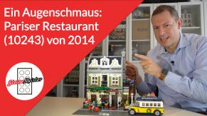 Pariser Restaurant von Lego (10243)